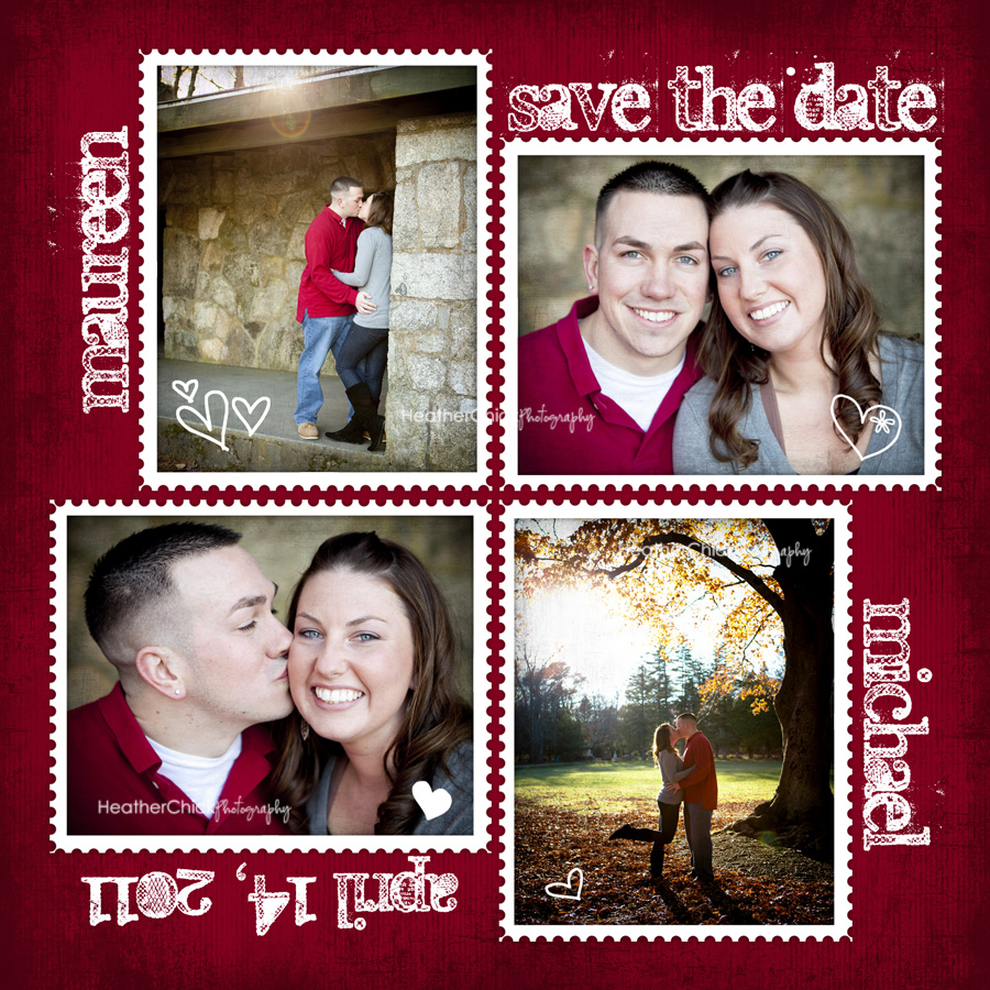 Save the Date Cards - Heather Chick Photography